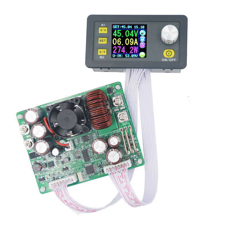 DPS5020 Step-down communication converter voltmeter 50V 20A constant voltage current programmable control power supply 20%off dps5020 constant voltage current step down communication digital power supply buck voltage converter lcd voltmeter 50v 20a