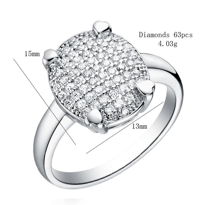 Fashion Zirconia Wedding Engagement Rings For Women Fashion ...