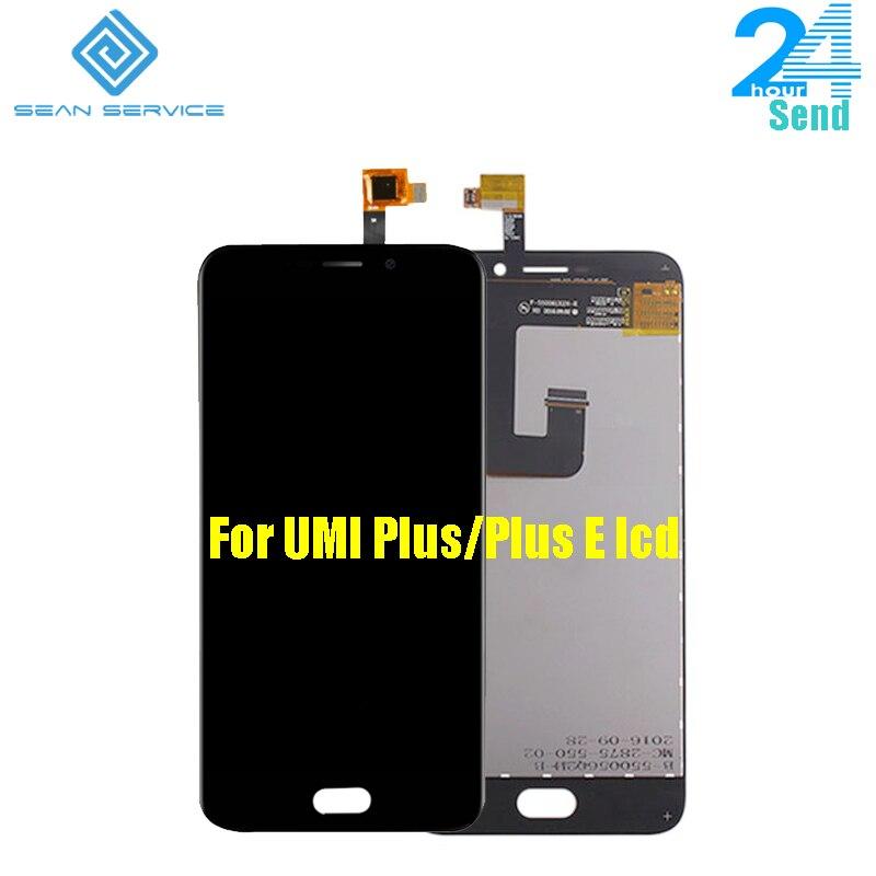 5.5 pouce Pour UMi Plus 100% Original Écran lcd et Tactile écran Digitizer lcd Assemblée Pour Umi plus E Octa Core 1920x1080 P