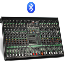 Pro 16 Channel Bluetooth USB Mixer With Reverberation Stage Performance Karaoke KTV Wedding Special Mixer With 48V Phantom Power
