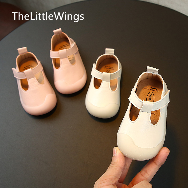 Girls'walking-Shoes Super-Soft Baby Princess And for Children's 0-1-3-Years-Old Comfortable