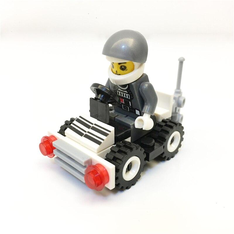 3434 MgneEarly education digital Blocks chase patrol wagon toys Block Brick ABS Toy racing locomotive car Exploiture blocks