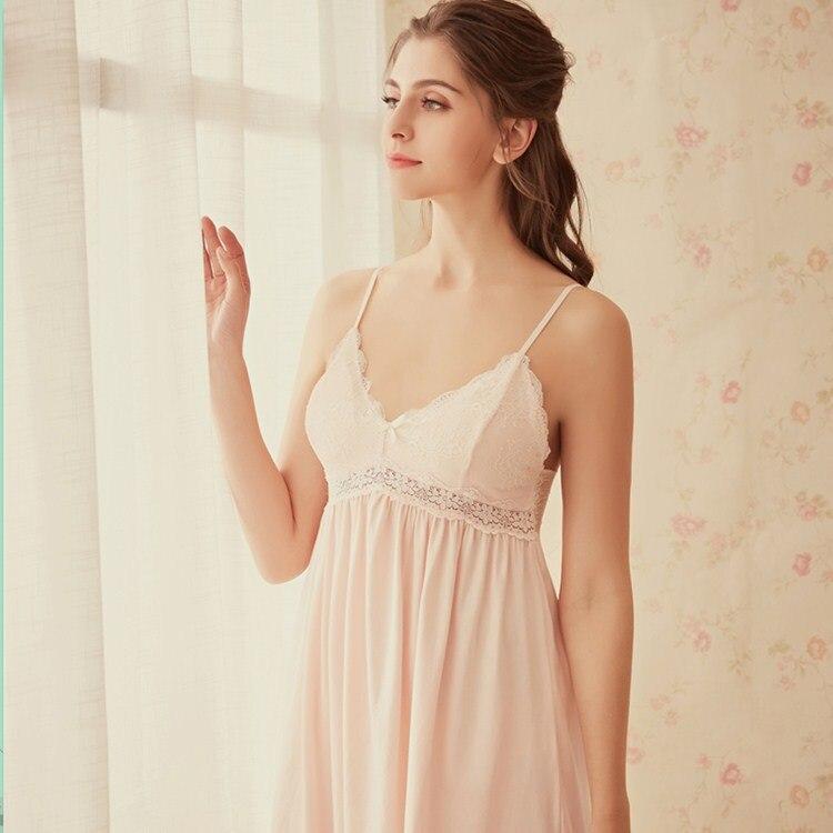 Sexy Nightwear Night Wear Lace Sleepwear Night Dress Women 0918