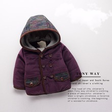 2016 girls Winter Jackets Coat Autumn Winter Kids Wool Outerwear Girl Coat Children Clothing Baby Clothes Hooded Boys Jackets