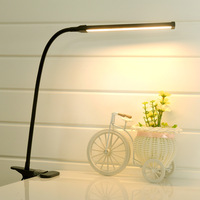 Flexible USB LED Book Light With Clip Student Lamp Eye Protection Reading Lamp Simple Creative Bedroom