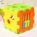 XFC Новый ХК Детские Дети DIY Блоки, Соответствующие Сортировки Геометрия Мозга Развивающие Игрушки на Рождество Подарок На День Рождения