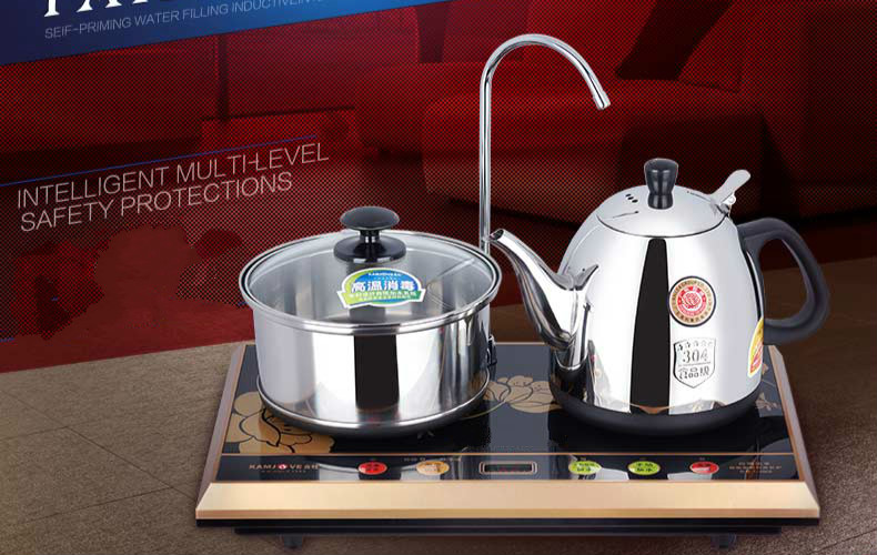 Intelligent temperature controlled tea stove electric teapot automatic water heater kettle Anti dry Protection
