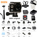Chegada de novo! Câmera de ação 100% Original Eken H9/H9R Ultra HD 4 K 30 M esporte 2.0 'Tela 1080 p FHD ir pro câmera à prova d' água