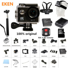 New Arrival! Action Camera 100% Original Eken H9/H9R Ultra HD 4K 30M sport 2.0′ Screen 1080p FHD go waterproof pro camera