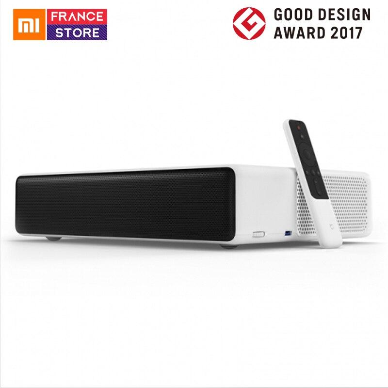 Versión en inglés Xiaomi Mijia proyección láser TV 150 pulgadas 1080 Full HD 4 K Wifi de 2,4G/5 GHz bluetooth 4,0 DOLBY DTS 5000 lúmenes