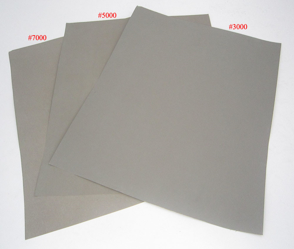 Polishing Lapping Finishing Sanding Abrasive Sandpaper Sand Paper Sheet Film Set