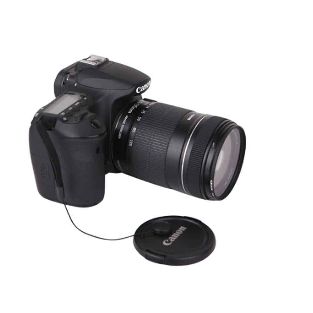 Vizemo 6-Pack Lens Cover Cap Holder Keeper Anti-Loss Strap,Lens Cap Leash Keeper Holder for DSLR Camera