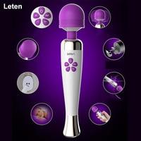 Leten AV Magic wand Máy Rung Dành cho phụ nữ G giao ngay Dildo vibrator Sex toys cho woman Vibrador âm vật Vibradores sản phẩm Tình Dục Sexo