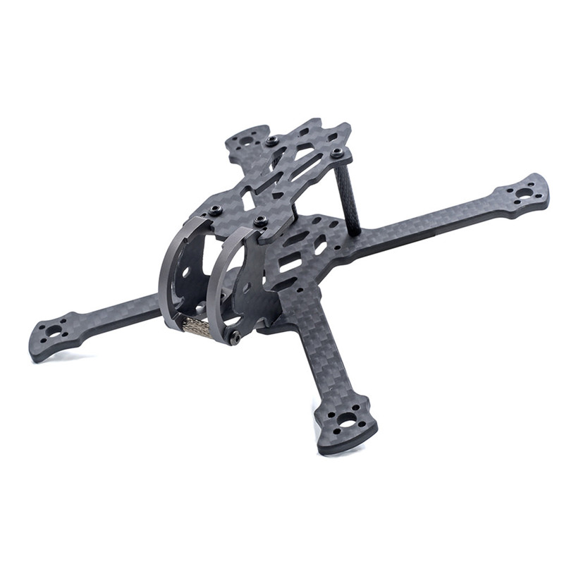 GEPRC GEP-PX3 3 Inch 140mm Wheelbase 3mm Arm 3K Carbon Fiber Frame Kit for RC Drone FPV Racing Multicopter Spare Parts miko rhino3 150mm wheelbase 3 inch 6mm arm carbon fiber molded integrated rc fpv racing frame kit for diy multicopter drone part