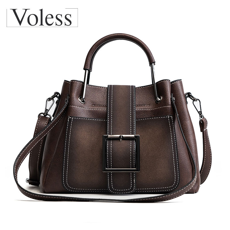 High Quality Shoulder Bags Soft Pu Leather Handbags Fashion Sequined Women Bags Luxury Rivet Tote Women Bags Sac A Mian New