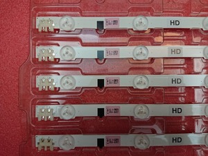 Image 4 - (Neue Original) 5 set = 25 stücke 9LED 65 CM LED streifen für Samsung UE32F5300 2013SVS32H BN96 25300A 26508B 26508A D2GE 320SC0 R3