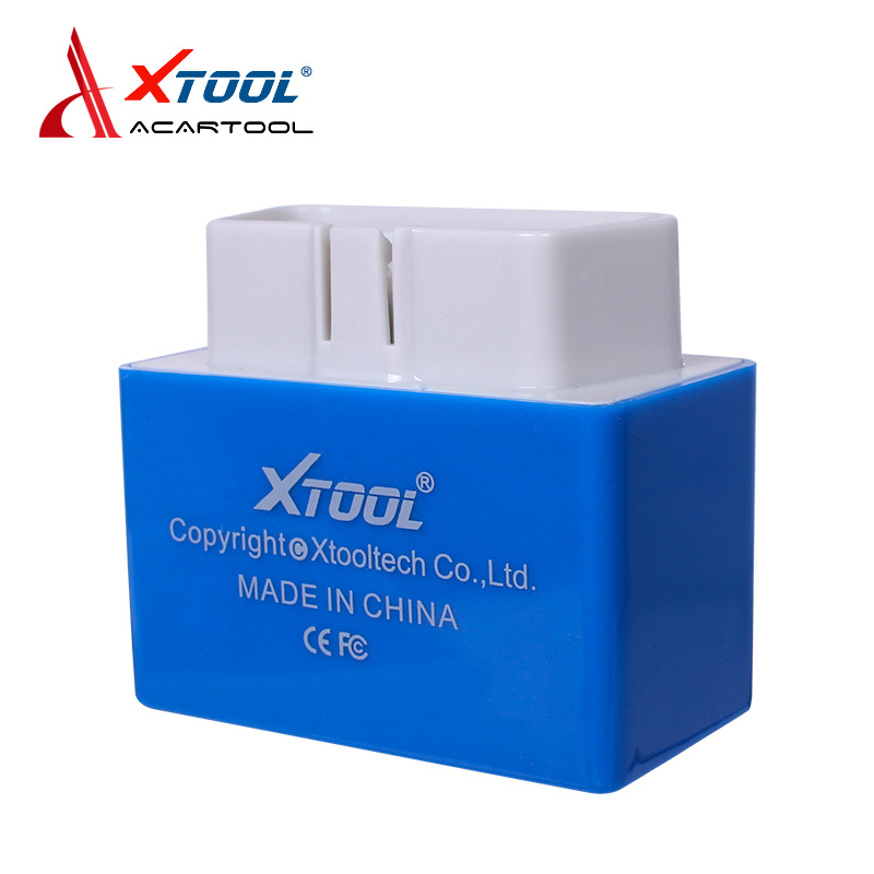 Newest blue Xtool IOBD2 Bluetooth Diagnostic Tool Support OBD II/EOBD protocol Code Reader For Android/IOS free shipping  цены