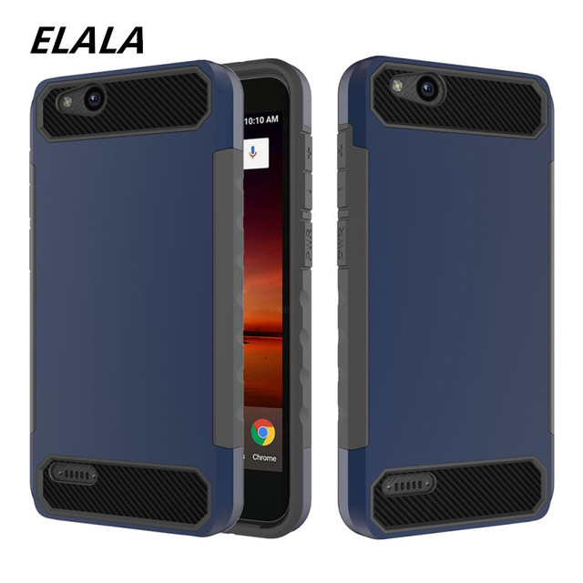 half off 50b69 d99fb US $3.94 21% OFF|For ZTE Tempo X N9137 / Blade Vantage Z839 / Avid 4 Z855  Cover Case Hard PC + TPU carbon Silicone fiber luxury dust proof Case-in ...