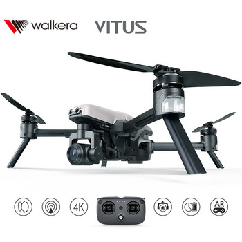 Walkera VITUS 320 Foldable With 4K Camera  3-Axis Gimbal Obstacle Avoidance AR Games Wifi FPV Drone