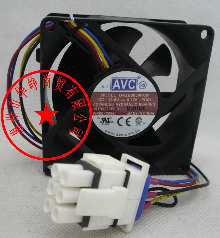 AVC 8038 13.6V 0.17A DAZB0838RCM-PG01 full waterproof humidifier ventilation fan кофеварка redmond rcm 1509s