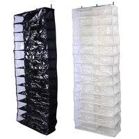 26 Pockets Hanging Organizer Shoes Bag Holder Room Door Back Storage Bags Shoe Rack Hanger Practical