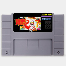 Mr Nutz 16 bit Grote Grijze Super Game Cartridge voor USA NTSC Game Player(China)