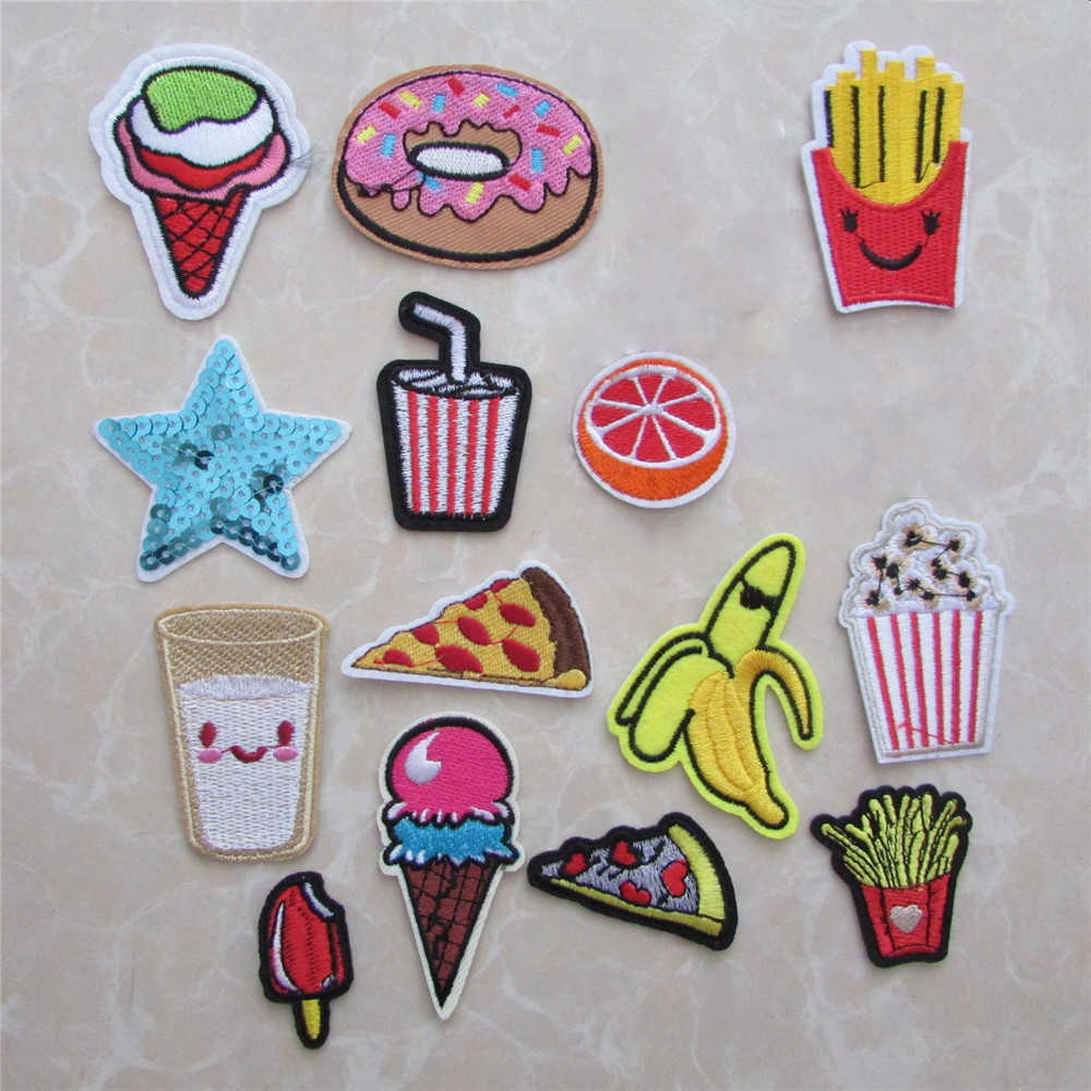 Brand new Fashion Different type Patches Stripes Hot melt adhesive Applique Embroidery DIY Craft Clothing Accessory C411-C5338