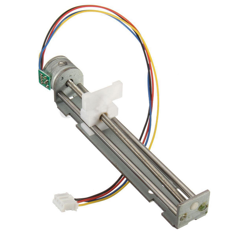 2 Phase Drive Stepper Motor Screw With Nut Slider 4 Wire