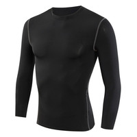 Men S Long Sleeve T Shirts Compression Clothing Elastic Autumn Spring Tees Shirt Fitness Wear Jerseys