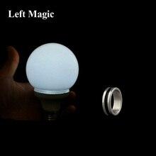 Магический светильник с управлением магнитом(белый цвет, с одним магнитным кольцом) Волшебные трюки маг сценическая иллюзия, трюк, реквизит ментализм
