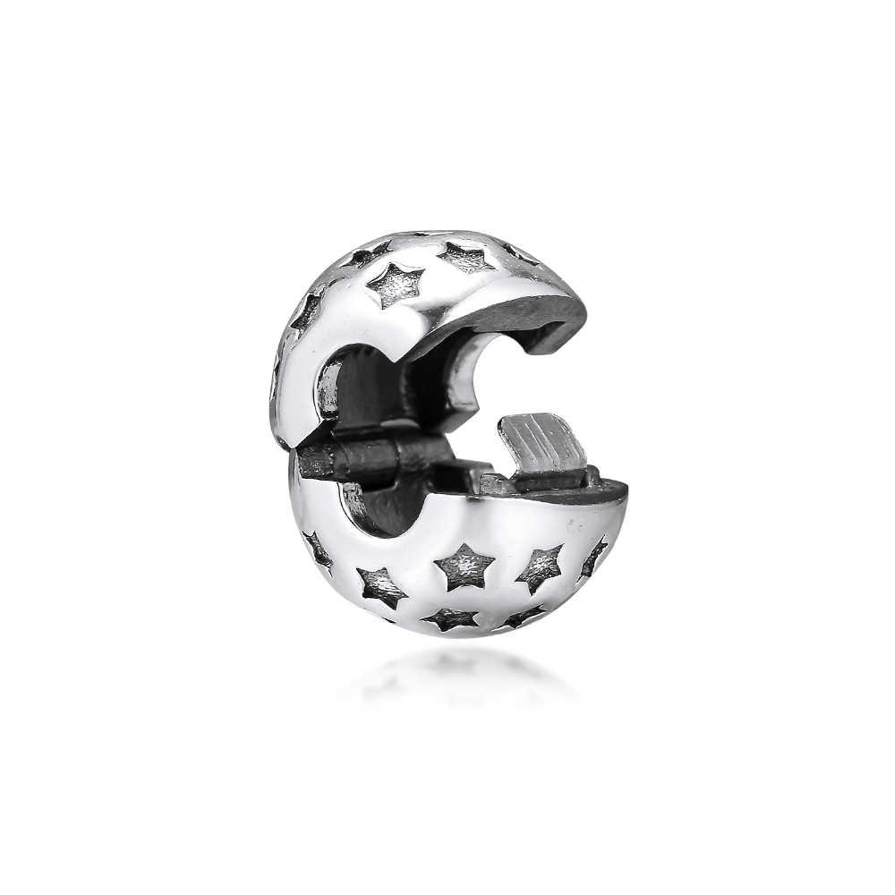 CKK Fit Pandora สร้อยข้อมือ Star Charms เงินสเตอร์ลิง 925 Original สำหรับเครื่องประดับทำ Charm Joyas kralen