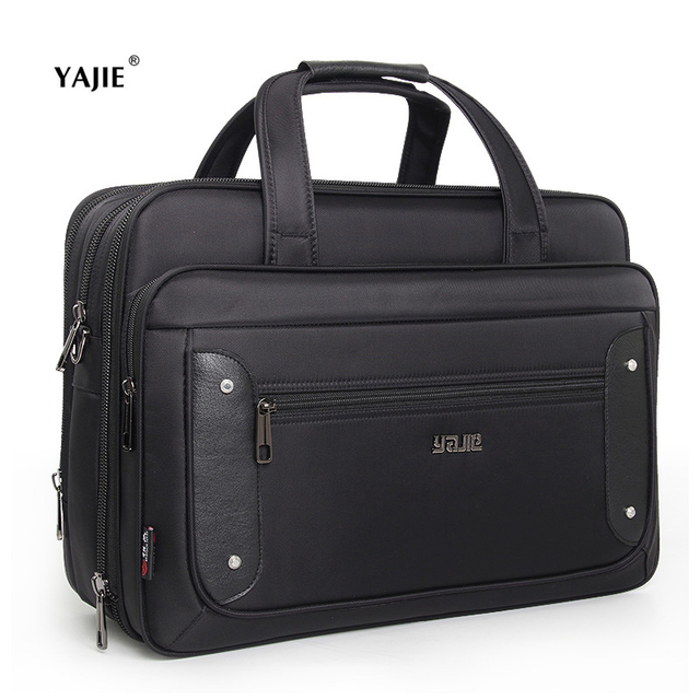 New Business Men S Handbags Casual 16 17 19 Inch Laptop Bag Brand Oxford