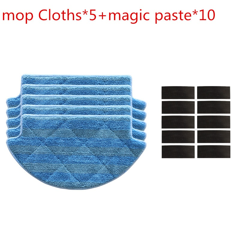 15pcs/lot Original thickness mop Cloths for Xiaomi Mi Robot Vacuum Cleaner mop Cloths Parts kit ( mop Cloths*5+magic paste*5) 15pcs lot sn74ahc1g08dbvt sn74ach1g08dbvr sot23 5 100%new