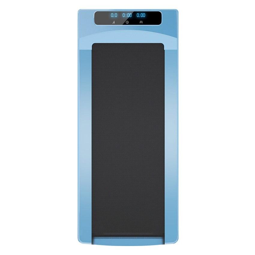 Mini Électrique Tapis Roulant Running Fitness télécommande Tapis Roulant 500 W 43 cm Largeur Ceinture Vitesse/Temps/Kilométrage Vitesse D'affichage 1-6 km/h