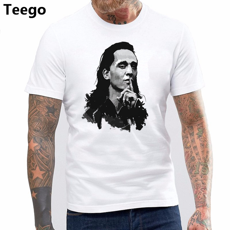 New Fashion Mens Short Sleeve Tshirt Cotton Topcloset Loki ...