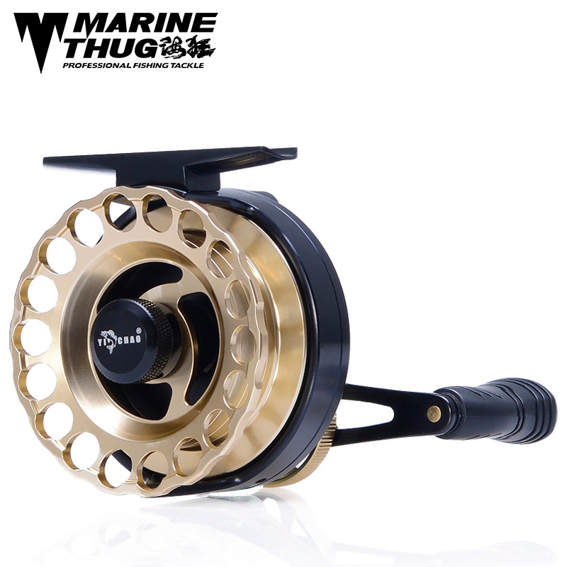 Marine thug Fly Fishing Reel KKD65 Left hand Right Hand Fishing Reel 8 ball bearing 4.3:1 Flying Fishing Wheel