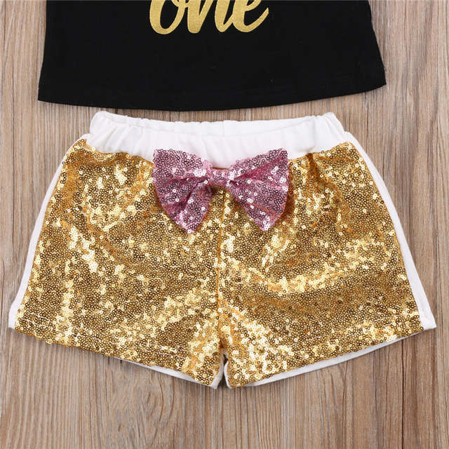 23fb9708db Summer New 2PCS Sets For Toddler Girl Kids Clothes Unicorn Top  T-Shirt+Sequins Pants Outfits Sets Girl Clothing