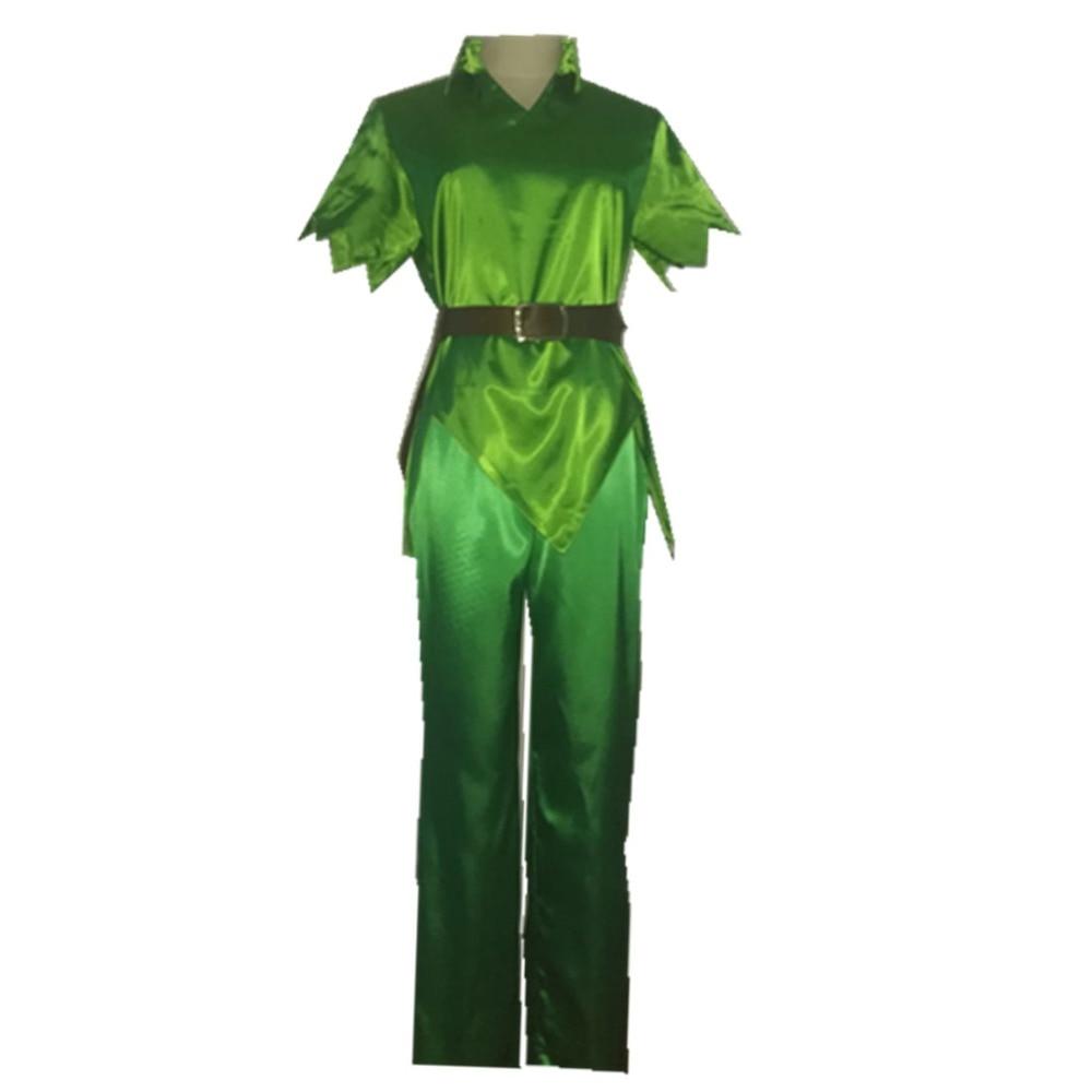 8f1b82a1b71 Adult men peter pan costume green fancy dress carnival party cosplay  costume custom made jpg 1000x1000