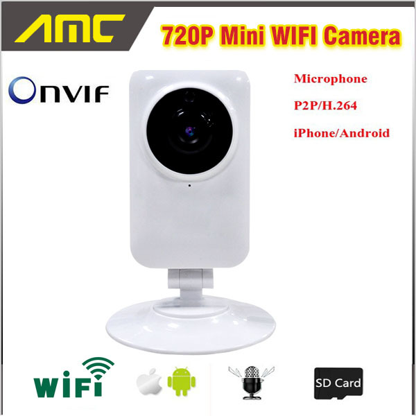 1.0MP 720P Mini Smart Camera Wireless Wifi or Wired ...