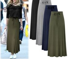 Spring and summer new skirt female high waist split belt belt temperament slim long skirt bag hip skirt self belt ruffle waist high split skirt