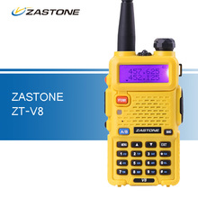 ZASTONE V8 Walkie Talkie Baofeng uv5r Style VHF UHF Dual Band Portable Two Way Ham Radio Comunicador HF Transceiver uv-5r Style
