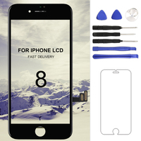 Grade AAA Quality Touch Screen For IPhone 8 LCD Display 4 7 Inch Black White No