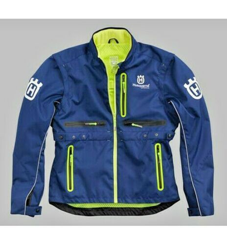 2019 Motocross Enduro For Husqvarna Husky Men s Jacket Gotland Polyester Off road Mens Jacket Blue