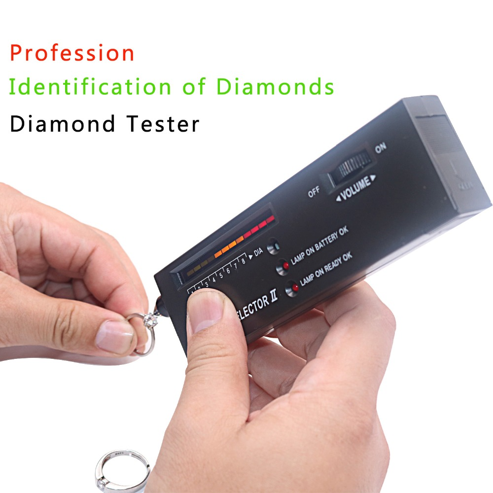High Accuracy Professional Jeweler Diamond Tester Selector For Novice and Expert professional gemological for distinguishing real dimaond selector ii