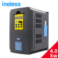 220v 4kw Frequency Inverter 1 Phase Input And 220v 3 Phase Output Frequency Converter Ac Motor