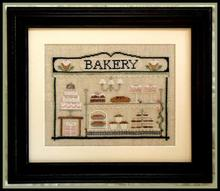 BAKERY  DIY Craft Stich Cross Stitch Cotton Fabric Needlework Embroidery Crafts Counted Cross-Stitching Kit