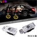 2x LED Car Door Welcome Light Laser Car Door Shadow led Projector Logo For Mercedes Benz R171 R199 W203 CLK W209