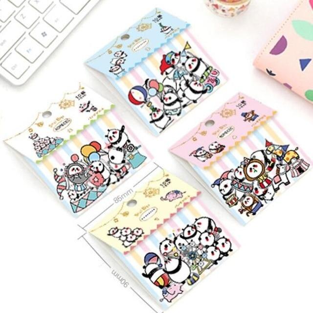 1 pacote/lote Japão Kawaii Dos Desenhos Animados Amigos série Estudantes pacote ferramenta DIY deco Adesivo PVC etiqueta engraçado presente escritório escola suprimentos