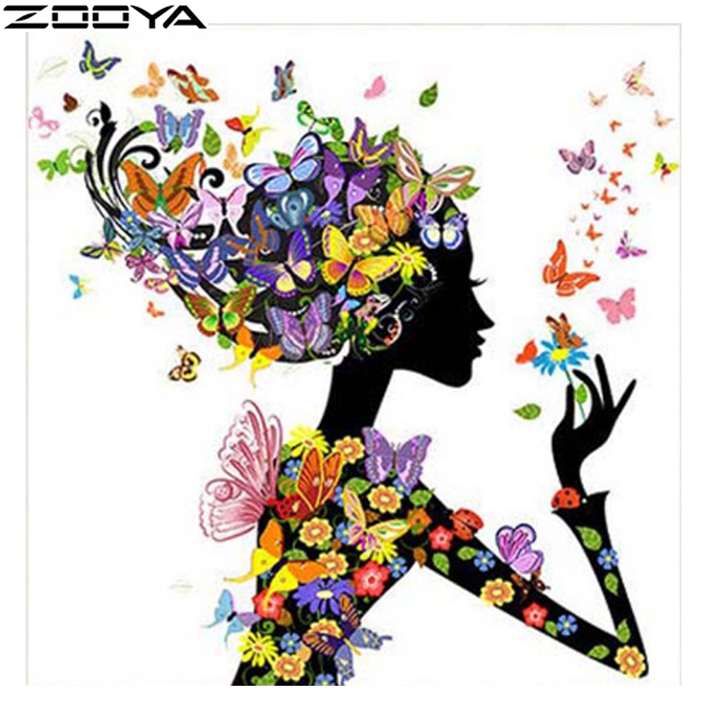 ZOOYA Costura 5D Pintura Diamante BRICOLAJE Punto de Cruz Pintura - Artes, artesanía y costura - foto 1