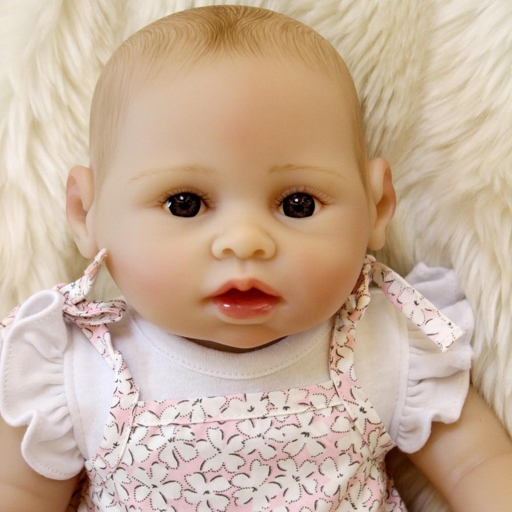 Otardpoupées nouveauté bain Reborn poupées doux vinyle silicone Reborn bébés poupée réaliste main peinture cheveux jouets pour enfants Gif